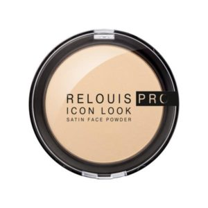 Pudra Relouis pro icon look satin face Powder